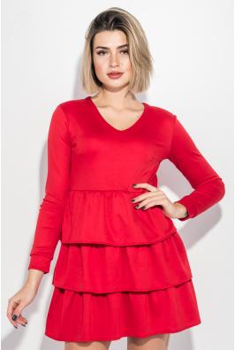 Платье женское с оборками 72PD204-1