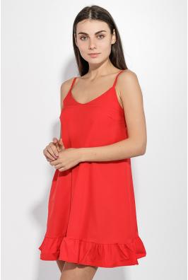 Сарафан женский с оборками по подолу юбки 72P180