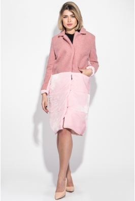 Пальто женское двухфактурное 69PD1062