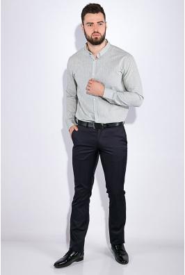 Рубашка мужская, однотонная 511F010-1