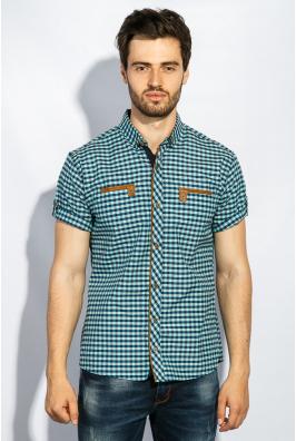Рубашка мужская крупная клетка 272F043-2