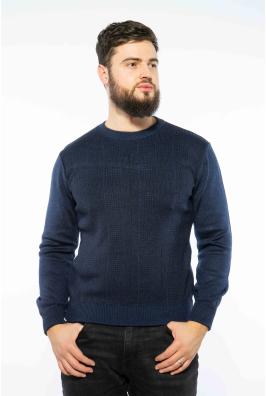 Пуловер в мелкий принт 604F002