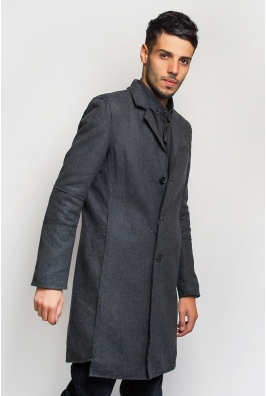 Пальто мужское классическое 662K001
