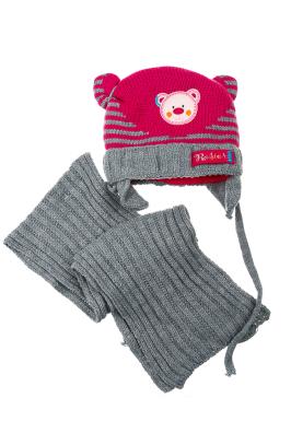 Комплект детский шапка и шарф 65P13-017 junior