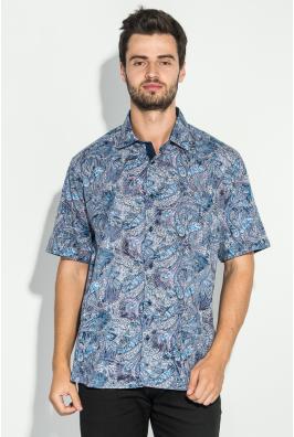 Рубашка мужская принт  50P2338