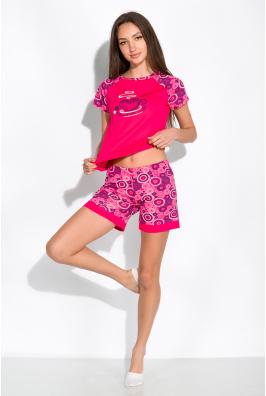 Пижама женская с рукавом реглан 107P5