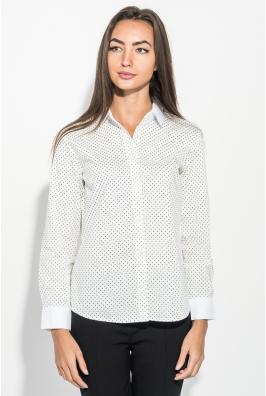 Рубашка женская в горошек 270V002-3