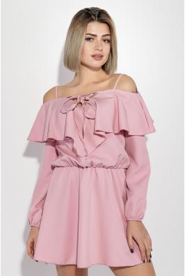 Платье женское приспущенные плечи, нарядное 72PD152