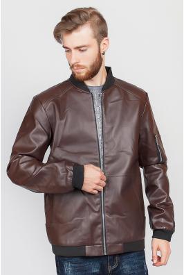 Куртка мужская классика экокожа 636K001
