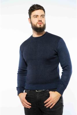 Пуловер в мелкий принт 604F002-1