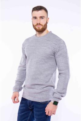Пуловер однотонный 608F001