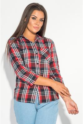 Рубашка женская с кармашком 52P002-5