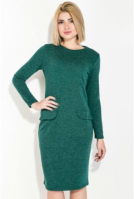 Платье женское, приталенное с фальш-карманами 74PD5110