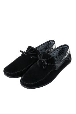 Мокасины мужские на шнуровке 42P009