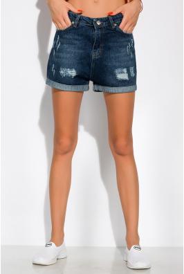 Модные джинсовы шорты 162P015