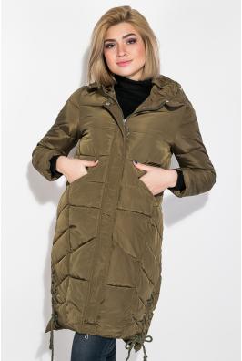 Куртка женская длинная 677K005-1