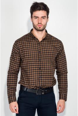 Рубашка мужская в клетку, стиль casual 511F001