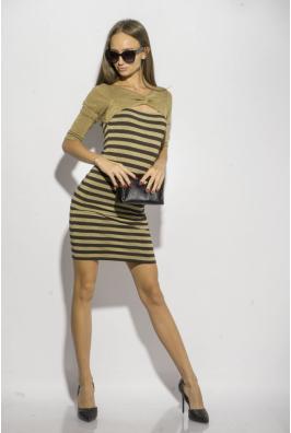 Платье в полоску 120PZEL9917