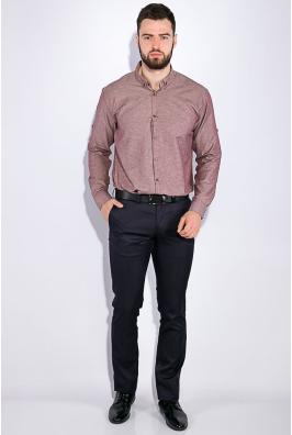 Рубашка мужская, однотонная 511F011-1