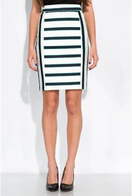 Классическая юбка в полоску 120PSE012