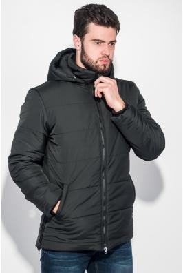 Куртка мужская удлиненная, зимняя, с капюшоном 70PD5010