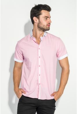 Рубашка мужская воротник с узором 50P020