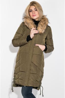 Куртка женская зимняя, длинная 677K005