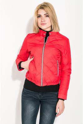 Куртка женская, стеганая с воротником стойка 80PD1312
