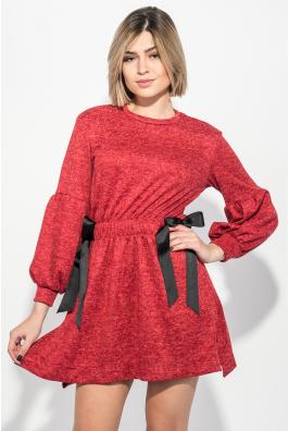 Платье женское с бантиками на боках 69PD1053