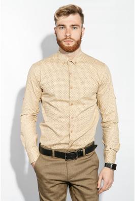 Рубашка мужская мелкий принт 333F014