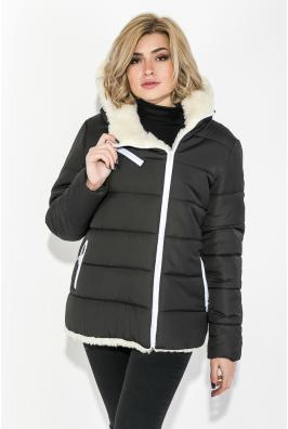 Куртка женская (полубатал) на меху 77PD8651