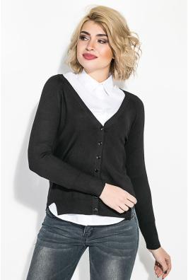 Кардиган женский под рубашку  446K002
