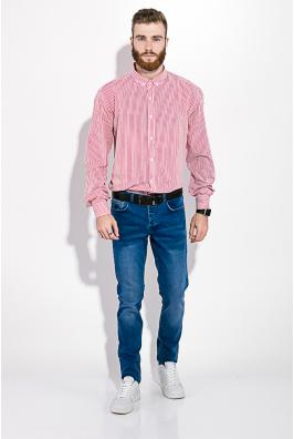 Рубашка мужская в полоску  511F008