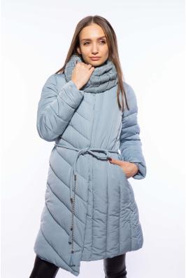 Женская куртка с хомутом 120PSKL9082