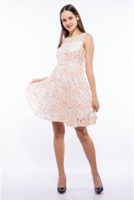 Платье женское с цветочным принтом 964K040