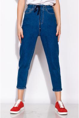 Женские джинсы на резинке с завязками 120PGU025