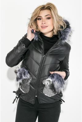 Куртка женская с вышитыми карманами 69PD987