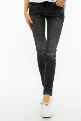 Джинсы женские Skinny  201P5093 с порваными коленями