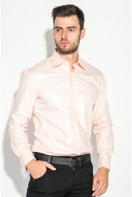 Рубашка мужская с контрастными запонками 50PD0060