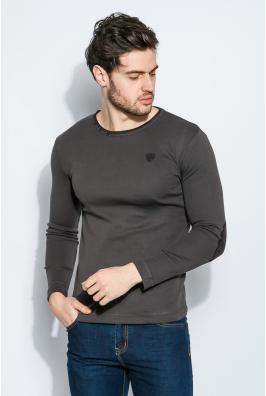 Пуловер мужской с локотками 415F010