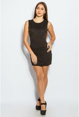 Платье женское черное, вечернее 959K002