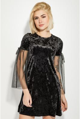 Платье женское велюровое 64PD236