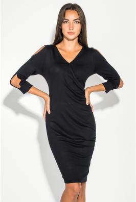 Платье женское с открытыми плечами 490F001