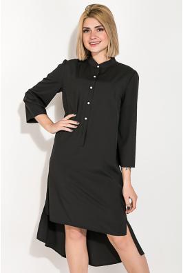 Платье женское с удлиненной спинкой  74PD343