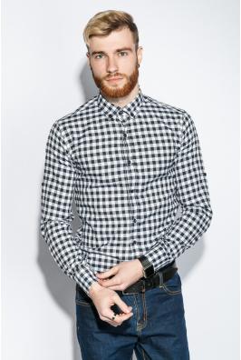 Рубашка мужская классическая клетка 333F011