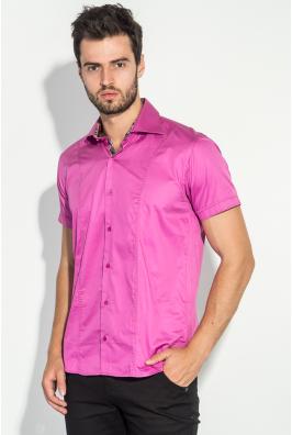 Рубашка мужская яркая, однотонная 50P382