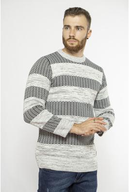 Стильный мужской свитер 85F334