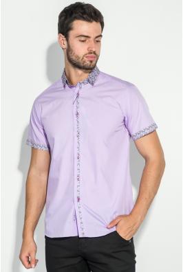 Рубашка мужская цветочный воротник 50P021
