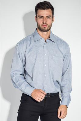 Рубашка мужская мелкий, светлый принт 50PD0035