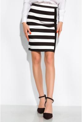 Классическая юбка в полоску 120PSE012-2